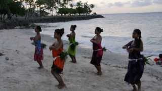Jewels of the Pacific dance practice, Majuro atoll, Marshall Islands, November 2013.