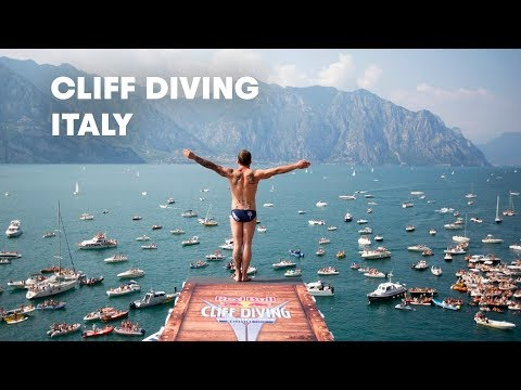 Vidéo : Red Bull Cliff Diving World Series 2013 à Malcesine en Italie