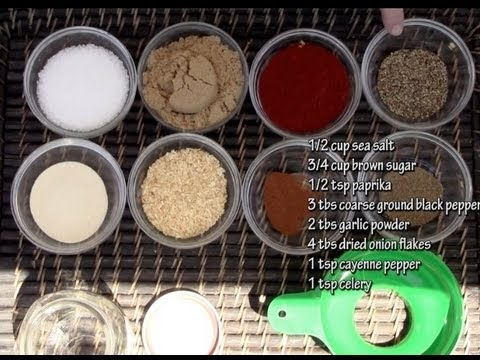 #1 Requested Recipe! Basic BBQ Rub Recipe