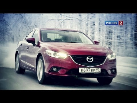 Mazda 6 Тест-драйв Mazda6 2013 // АвтоВести 88