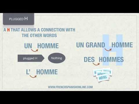 Buchstabe H im Französischen