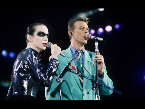 Annie Lennox & David Bowie: Under Pressure (+ behind the scenes rehearsals)