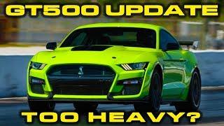 GT500 UPDATE * BYE BYE RED EYE * 2020 Mustang GT500 Weight revealed & 1/4 Mile Estimate by DragTimes
