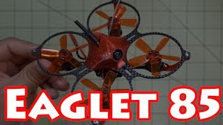 The Eaglet 85 seems to be well constructed with good components. However, a good lipo will be required as the 1104 7500kv motors are amp hungry. See recommended lipo below.It flies pretty well out of the box on stock settings. If you're looking for something you don't have to flash, this is one to check out. Only downside is installing a receiver which is a little tricky in the tight space under the canopy.🚩 Eaglet-85 Micro Drone - http://goo.gl/92iKPM🔋 Recommended Lipo - http://goo.gl/suuojz►► Coupon Code MICROFPV for 10% OFF!►► GearBest US Store - http://goo.gl/CslZGQ►► Gearbest SUMMER SALE!        ►http://www.gearbest.com/m-promotion-active-322.html          ►http://us.gearbest.com/m-promotion-active-334.html▼ RC GearTurnigy Evolution - http://goo.gl/xp5AGqFrSky Taranis X9D Plus SE - http://goo.gl/N4PxtRFatshark Dominator V3 Goggles - http://goo.gl/ixDi1w▼ Camera GearSony RX100 Mark V - http://goo.gl/yaQvftGoPro Hero Session 5 - http://goo.gl/4PA6BnHawkeye Firefly 7S - http://goo.gl/v2NGCQRunCam 3 - http://goo.gl/SU0gtSRunCam2 - http://goo.gl/QS3pzuXiaomi Yi Action Camera - http://goo.gl/u30TkKMobius Mini - http://goo.gl/L2oNNuSamsung Galaxy Note 5 - http://goo.gl/1uOSFg▼ My Video DronesDJI Mavic Pro - http://goo.gl/ecxdZQYuneec Breeze 4K Selfie Drone - http://goo.gl/3YhDwYHubsan H109S X4 Pro - http://goo.gl/FL4jssWhat I use to edit my videos - http://amzn.to/1VJHWp7SUBSCRIBE TO MY CHANNEL - http://goo.gl/b1cZZM
