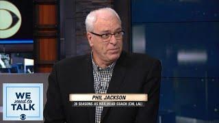 We Need To Talk: Phil Jackson talks Knicks, Carmelo Anthony, and Kristaps Porzingis