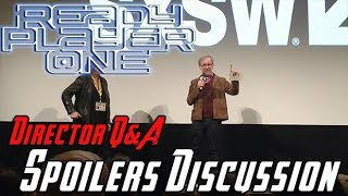Video Ready Player One - Steven Spielberg's Q&A + Spoilers! MP3, 3GP, MP4, WEBM, AVI, FLV Desember 2018