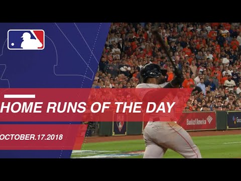 Video: Home Runs of the Day - October 17, 2018