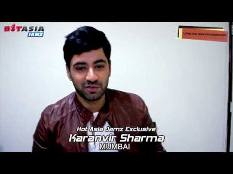 Karanvir Sharma Bollywood interview.