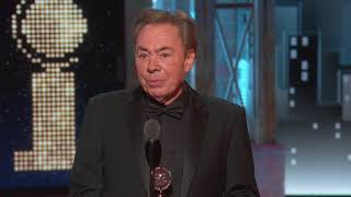 Download Lagu Acceptance Speech: Andrew Lloyd Webber (2018) Mp3