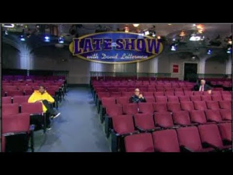 No-Audience Hurricane Sandy Shows on Letterman, Oct. 29 & 30, 2012