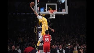 Anthony Davis Throws Down Two Ridiculous Alley-Oop Dunks Against New Orleans Pelicans