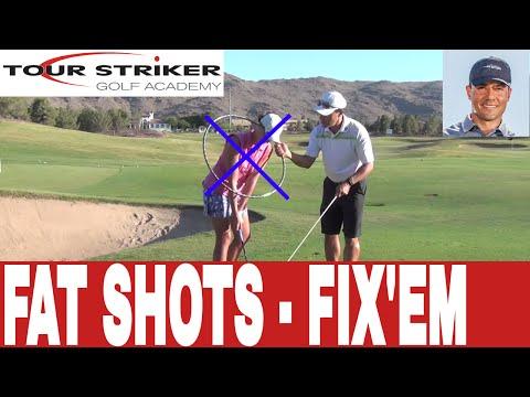 Fat Shots Be Gone! Tour Striker Golf Academy w Martin Chuck and Courtney Mahon