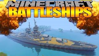 Minecraft : BATTLESHIPS - 'LITTLE LIZARD VS TINY TURTLE' Round 2
