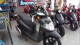 8. 2012 SYM Hd 200 Scooter