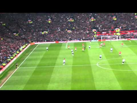 Man Utd: Wayne Rooney 1st And 2nd Goal + Crowd Reaction Vs Liverpool