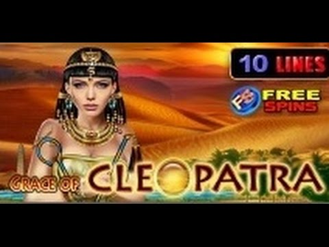 Grace Of Cleopatra - Slot Machine - 10 Lines + Bonus