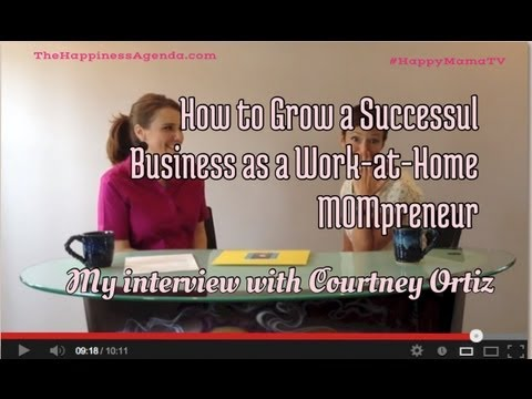 Top Tips from a Sucessful Work-at-Home Mompreneur