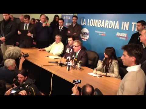"""Maroni: """"Cancelleremo i rimborsi ai consiglieri regionali"""""""