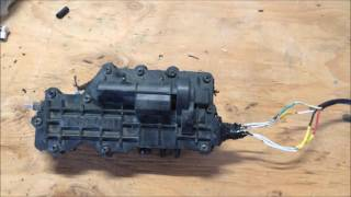 2. 2014 Arctic Cat Wildcat 4 Front Diff Actuator Repair