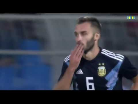 Germán Pezzella goal | Argentina vs Iraq 4-0   All Goals & Highlights 2018 HD