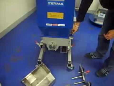 Zerma GSL 300/400 slow-speed Granulators