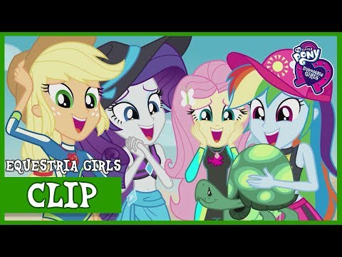 Aw…Baby Turtles | MLP: Equestria Girls | Better Together (Digital Series!) [Full HD]