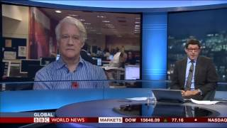 Islamic finance 29 Oct 13, BBC World ('Global'; Jon Sopel)