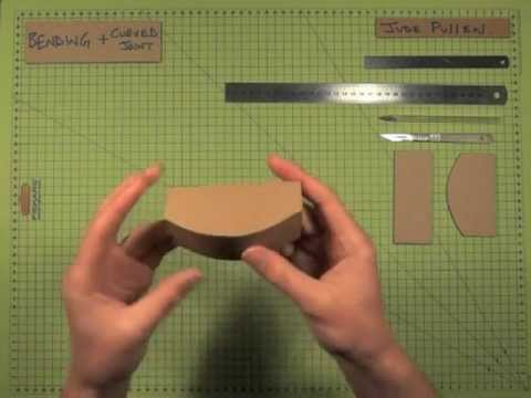 cardboard curve