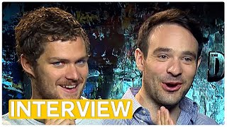 Marvel's Defenders - Daredevil & Iron Fist (2017) exclusive interview by Movie Maniacs
