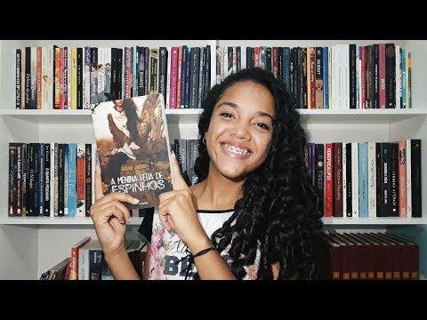 A Menina Feita de Espinhos - Fabiane Ribeiro |  FEBRE DE LIVRO