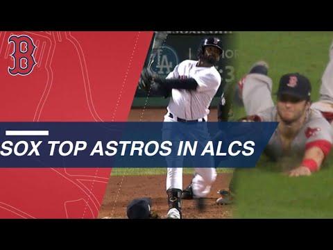 Video: JBJ, Benintendi help lead Red Sox over Astros in ALCS