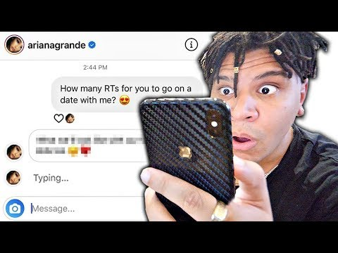 I SENT A DM TO 100 CELEBRITIES TO SEE WHO WOULD REPLY *actually Worked*