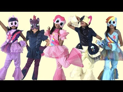 My Little Pony The Movie 2017 DELUXE Halloween Costumes with Figures | Toys Academy