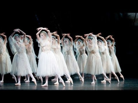 Giselle - in rehearsal (The Royal Ballet)