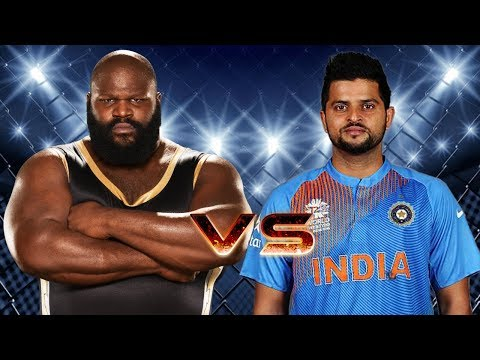Mark Henry VS Suresh Raina - 1-vs-1 Match
