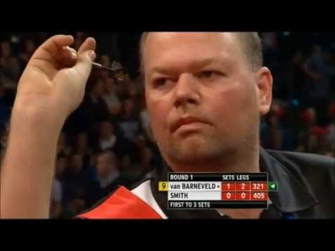 darter - van Barneveld near 9 darter - PDC World Darts Championship 2013.