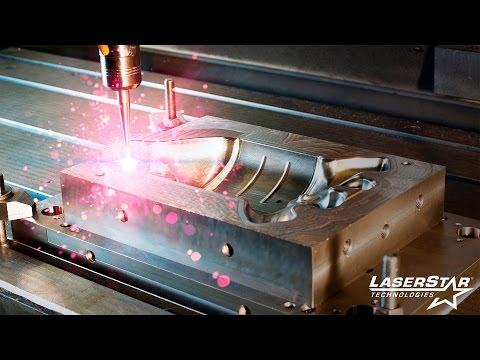 "<h3>The Best Mold Repair Laser Welder</h3>In this video we demonstrate applying filler wire from .015"" to .045"" diameter using the LaserStar 7700-3 Series and the 7800 Series Open Workspace Laser Welding Workstations as well as the 8700-2 Series and 8800 Series FiberStar Open Workspace Laser Welding Workstations. The best mold repair laser welders are manufactured by LaserStar Technologies. Made in the USA, LaserStar and FiberStar open workspace laser welding workstations are versatile, easy to use, simple to maintain, and incredibly durable.   <br />"