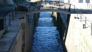 Lockport (NY) United States  city photos : The Erie Canal Locks at Lockport NY USA - Revised 2011