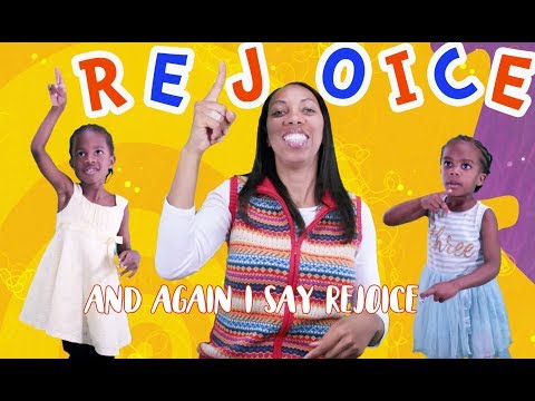 Rejoice In The Lord Always - Bible Songs For Children with Lyrics