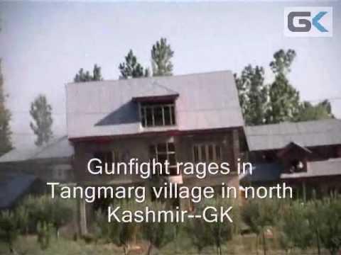 Gunfight Rages Near Tourist Resort Of Tangmarg In North
