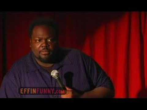 Saleem Muhammed Effinfunny Stand Up - Yeah, I'm Big