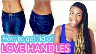 How to Get Rid of Love Handles - YouTube