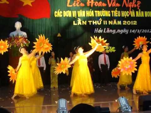 Rạng rỡ Việt Nam - Tiết mục giải B tại Liên hoan văn nghệ các trường Tiểu học năm 2012