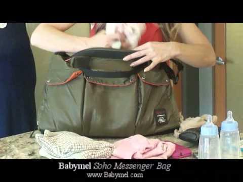 Babymel Bag Series – Soho Messenger Bag