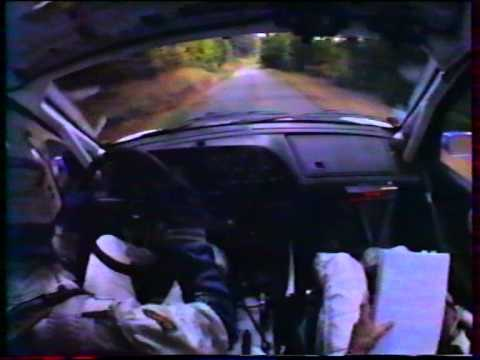 francois delecour on-board rallye du limousin 1996