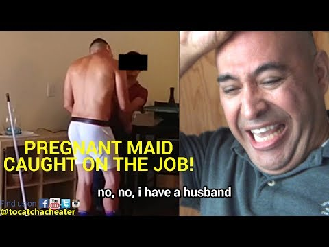 Pregnant Maid CAUGHT Sleeping On THE JOB! HUSBAND WATCHES! (SHOCKING FOOTAGE!) 😱😪😭😲😱