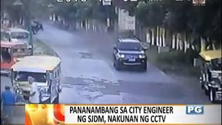 6. City engineer sa Bulacan sugatan sa ambush