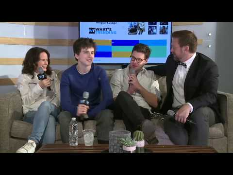 'One and Two' Interview - Timothée Chalamet, Elizabeth Reaser, Grant Bowler and Andrew Palermo