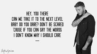 Naked - James Arthur (Lyrics)