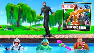 *NEW* Season 5 Hide & Seek Custom Gamemode In Fortnite Battle Royale